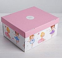 Складная коробка «Милой девочке», 31 х 25,5 х 16 см