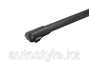 Багажная система LUX ХАНТЕР L47-B черная для автомобилей с рейлингами