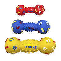 Игрушка виниловая Гантель-мина с шипами 19 см EV058 ZooMax