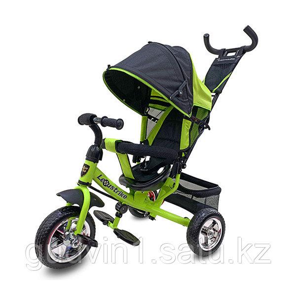 Велосипед 3-х колесный Lexus Trike, колеса пластик, зеленый 01-12589