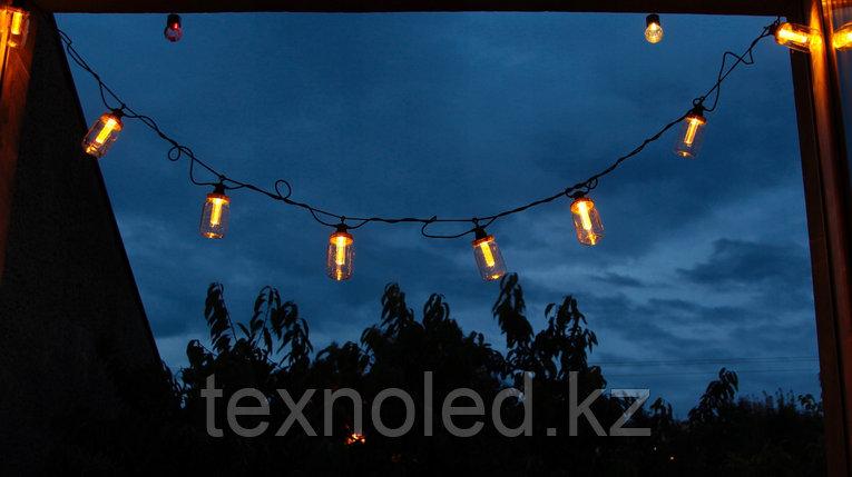 Светодиодная гирлянда из ламп, фото 2
