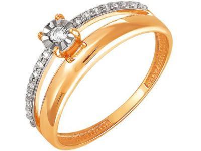 Золотое кольцо РусГолдАрт 1395603_1_5_1_18