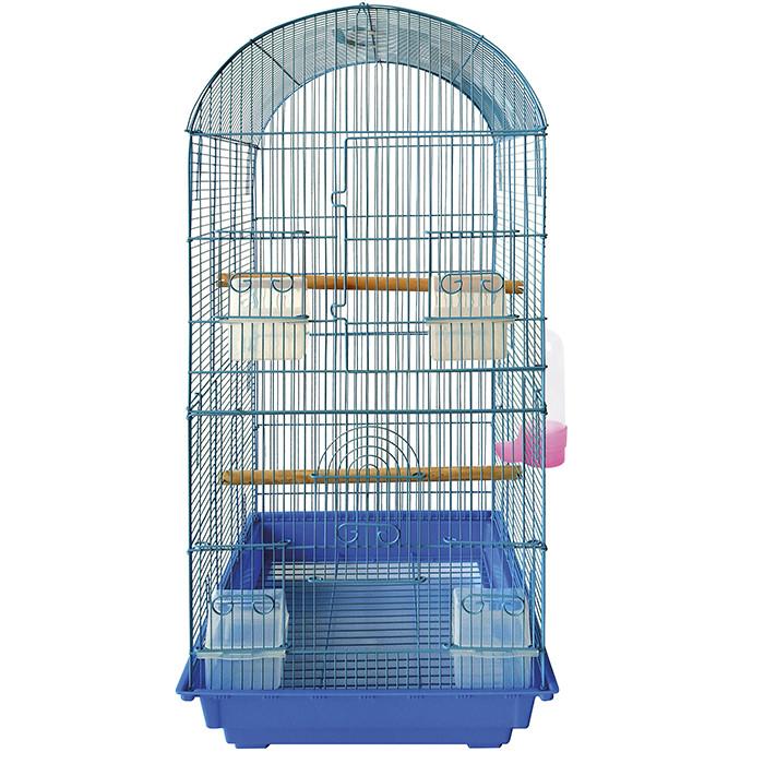 Клетка  для крупных попугаев , для Корел     40-40-89см  725-2