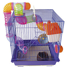 Клетка грызуны 35-28-38  950b  краска