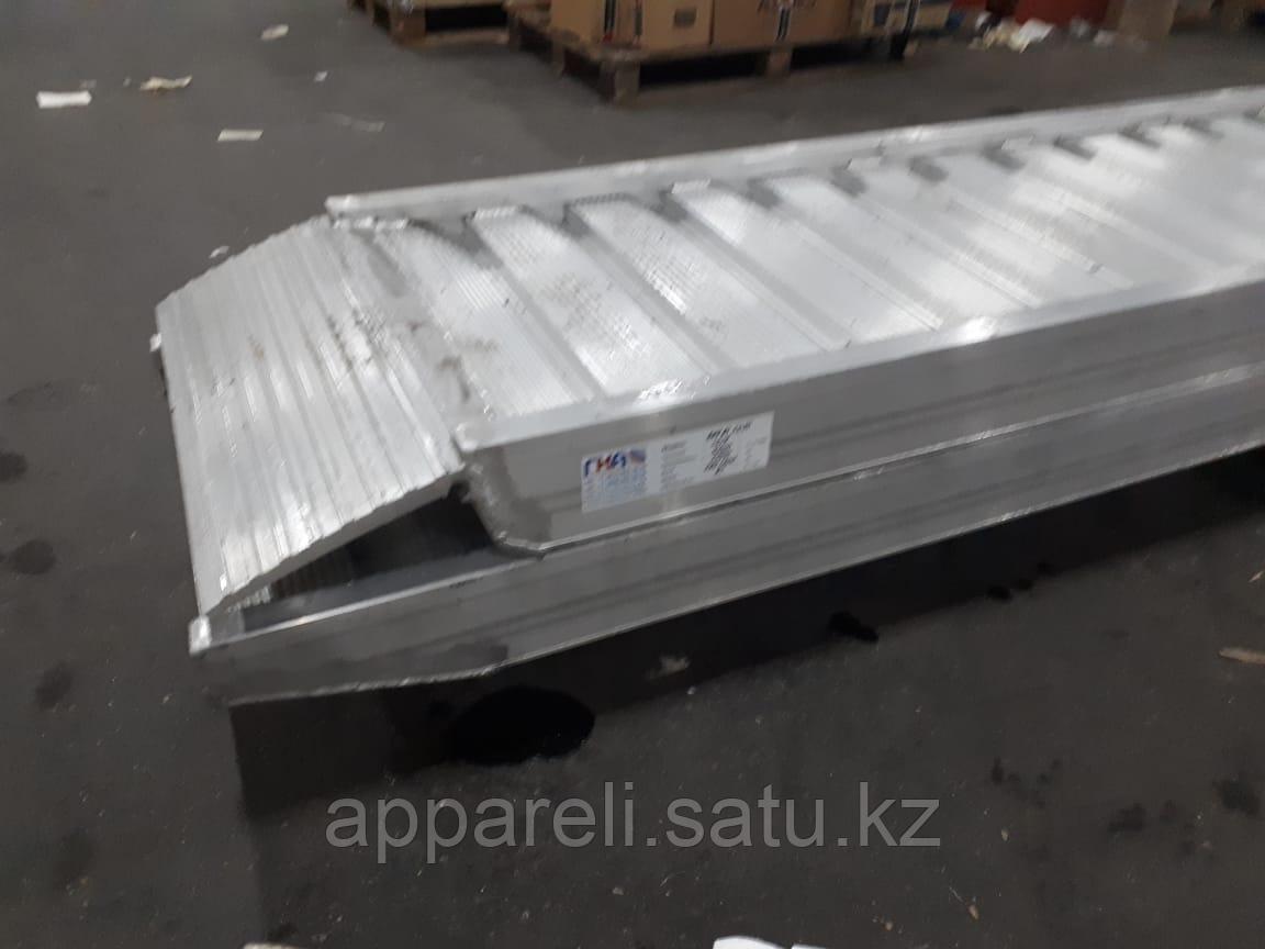Производство трапов сходней алюминиевых 8000 кг