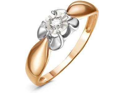Золотое кольцо РусГолдАрт 1363803_1_5_1_18