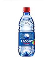 Вода газированная питьевая Tassay клубника с газом 0,5 л