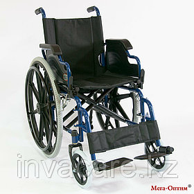 Инвалидная коляска Мега Оптим FS 909 B, литые задние колеса