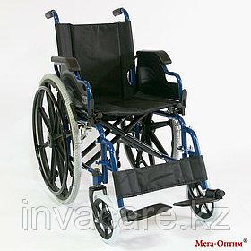 Инвалидная коляска Мега Оптим FS 909 B, пневматические задние колеса