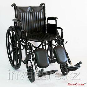Инвалидная коляска с регулировкой угла наклона подножек 511 B