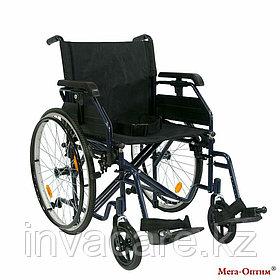 Инвалидная коляска с дополнительными транзитными колесами 514 A-4