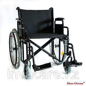 Инвалидная коляска 711AE, ткань, пневматические задние колеса