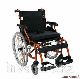 Инвалидная коляска с дополнительными транзитными колесами 514 A-1