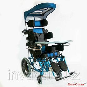 Инвалидная коляска с козырьком от солнца FS 958 LBHP