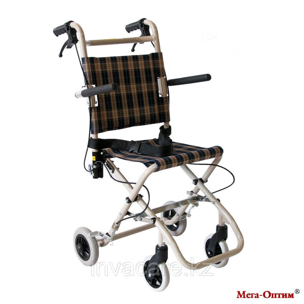 Инвалидная компактная каталка Мега Оптим FS 800 LBJ