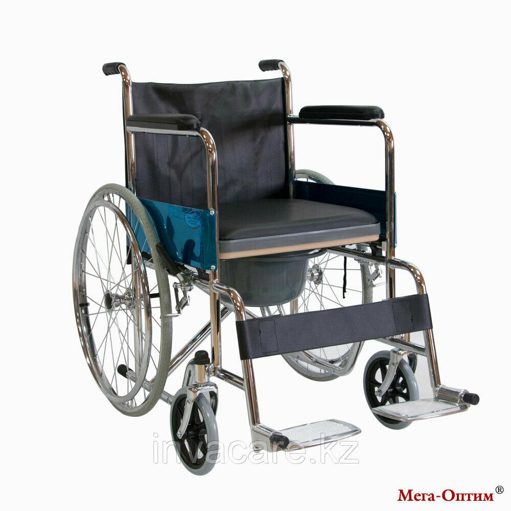 Инвалидная коляска Мега Оптим FS 681, 43 см