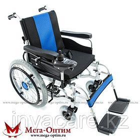 Инвалидная коляска с большими ведущими колесами Мега Оптим FS 101 А