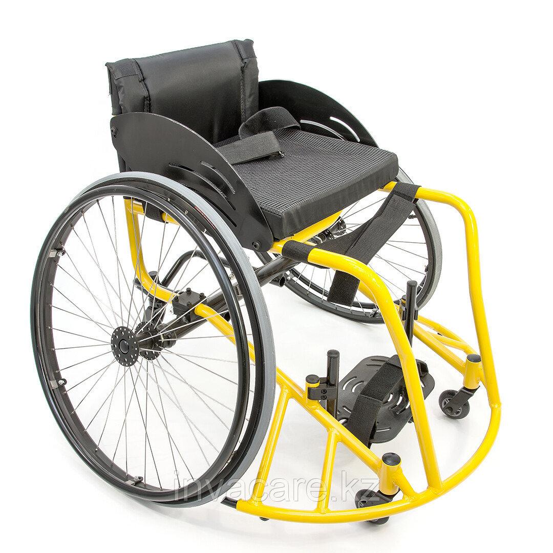"""Инвалидная коляска для баскетбола """"Центровой"""" Мега Оптим FS 777 L"""
