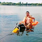 Инвалидная каталка с поручнями-поплавками BW-100 TRITON, фото 4