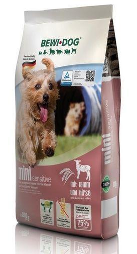 Корм Bewi Dog для взрослых собак мелких и средних пород, склонных к аллергии (Ягненок) - 3 кг