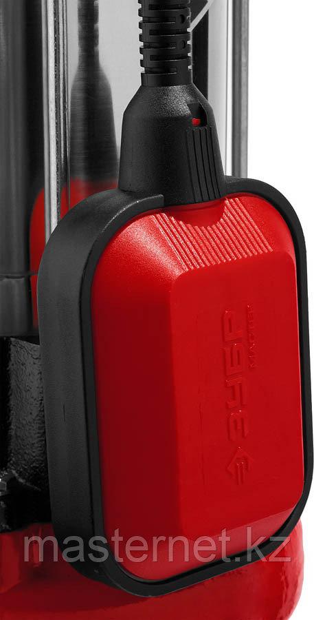 ЗУБР НПФ-1500-Р фекальный насос с режущим механизмом, 1500 Вт - фото 3