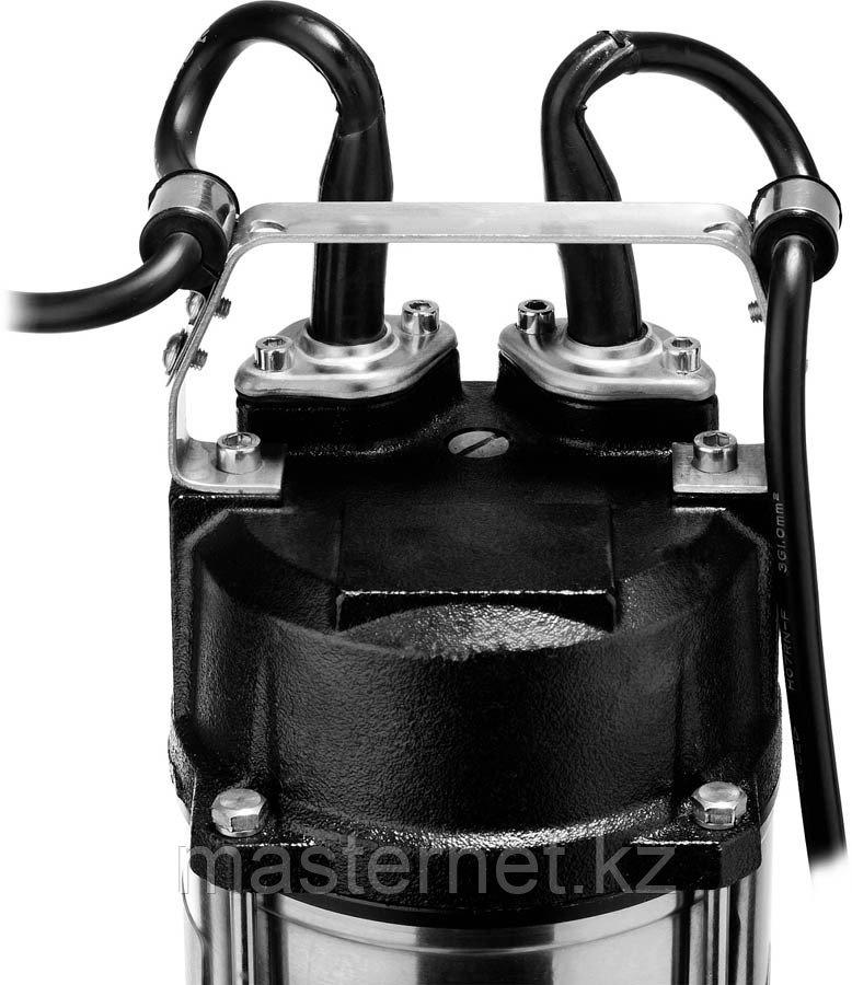 ЗУБР НПФ-1500-Р фекальный насос с режущим механизмом, 1500 Вт - фото 5