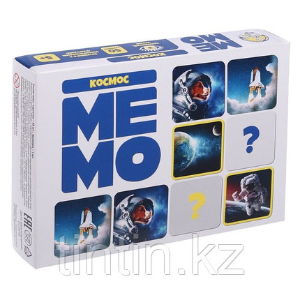 Настольная игра «Мемо. Космос», фото 2