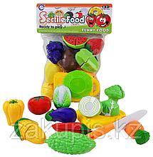 Игровой набор «Разделяющиеся фрукты / овощи» на липучке