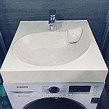 Раковина для установки на стиральную машину - Лотус 60, фото 5