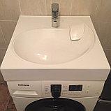 Раковина для установки на стиральную машину - Лотус 60, фото 2