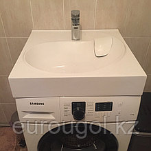 Раковина для установки на стиральную машину - Лотус 60