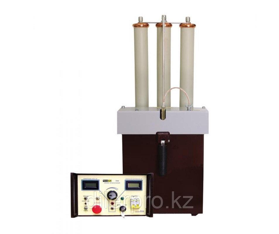 ПрофКиП-70М аппарат испытания изоляции силовых кабелей и твердых диэлектриков