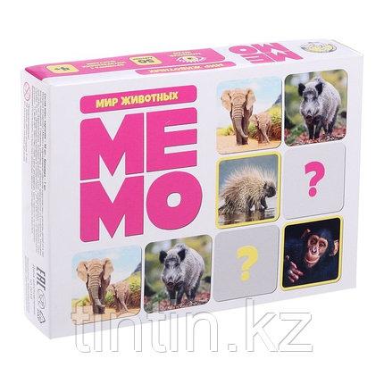 Настольная игра «Мемо. Мир животных», фото 2