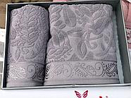 Комплект полотенец Çeştepe микрохлопок, фото 2