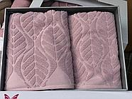 Комплект полотенец Çeştepe микрохлопок, фото 4
