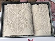 Комплект полотенец Çeştepe микрохлопок, фото 5
