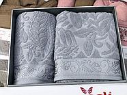 Комплект полотенец Çeştepe микрохлопок, фото 8