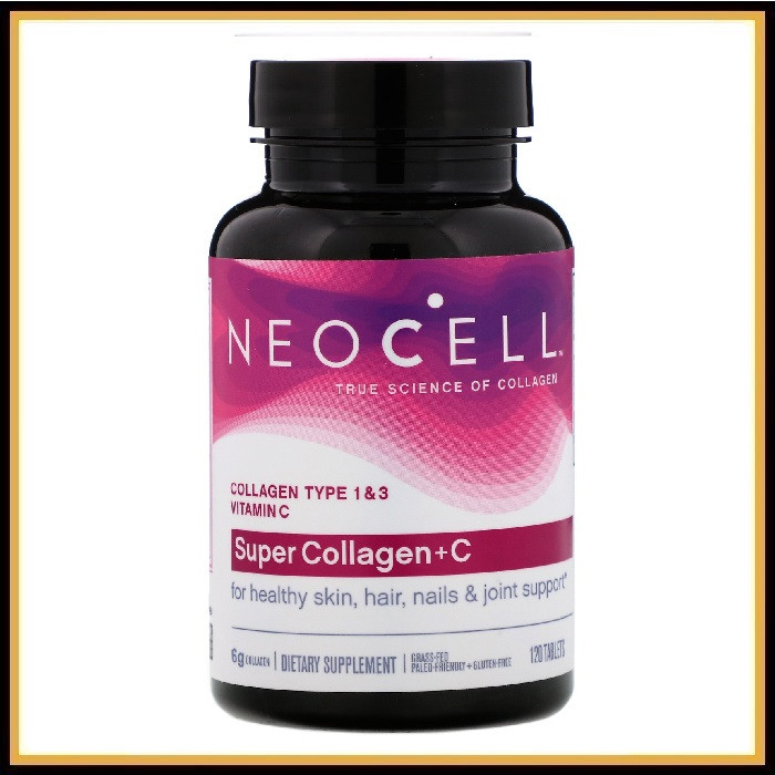 Neocell Super Collagen+C 120таблеток