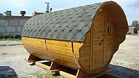 Баня-Бочка - 3,5 метра, Кедр, фото 1