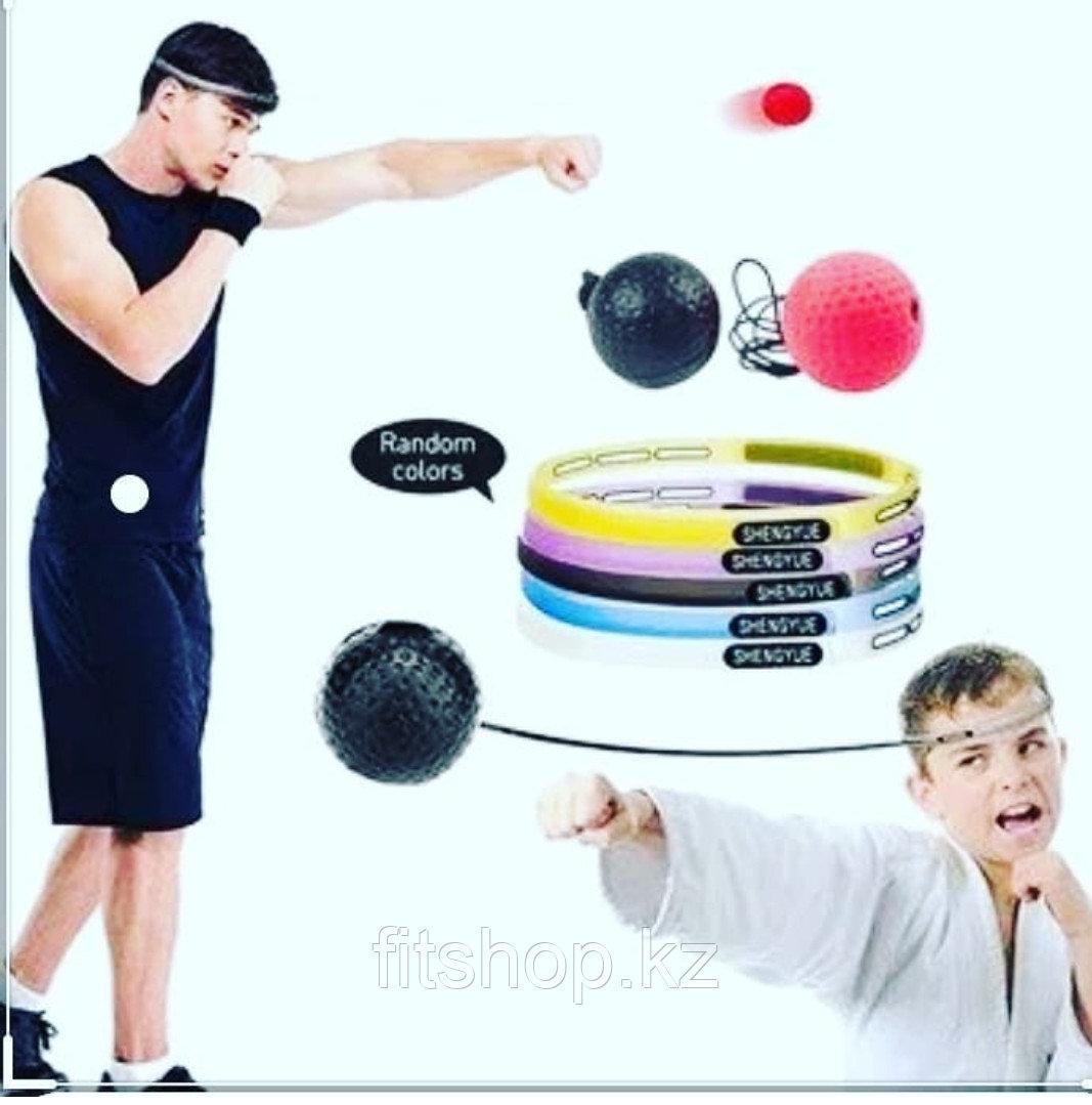 Тренажер мяч для развития реакции Boxer Refling Fighting Ball