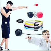 Тренажер мяч для развития реакции Boxer Refling Fighting Ball, фото 1