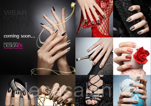 Dashing Diva FX Стикеры для ногтей