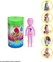 Кукла Челси с водными сюрпризами Barbie Chelsea Color Reveal, фото 1