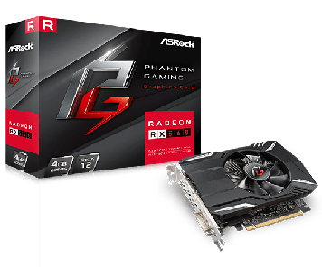 Видеокарта ASRock PHANTOM GAMING RADEON RX560 2Gb