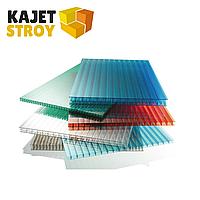 Сотовый поликарбонат цветной Golden plast 10 мм размеры 2,1*6,0  м.