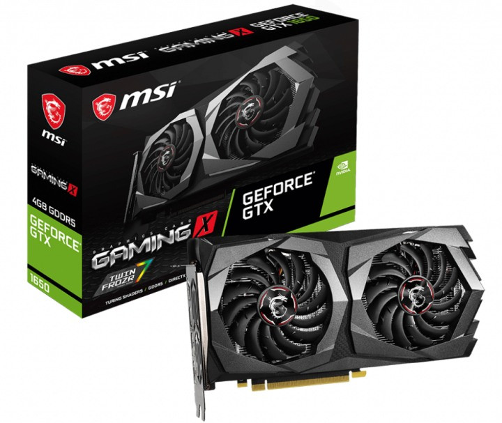 Видеокарта MSI GeForce GTX1650