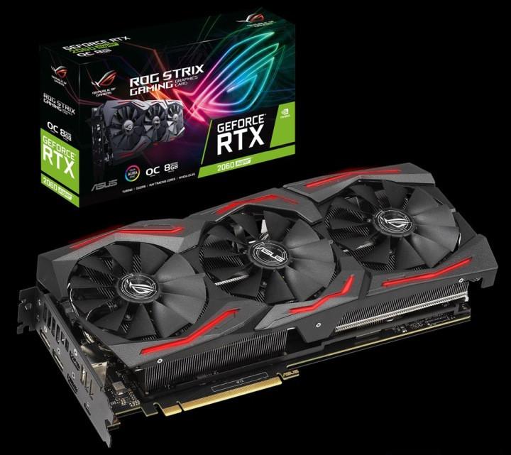 Видеокарта Asus GeForce RTX 2060 SUPER EVO OC Edition 8GB