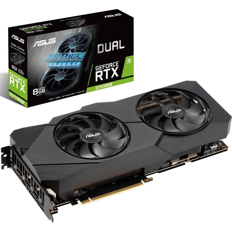 Видеокарта ASUS GeForce RTX2070 Super DUAL 8Gb