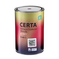 Эмаль термостойкая 'Церта', ж/б, до 650 С, 0,8 кг, красно-коричневая
