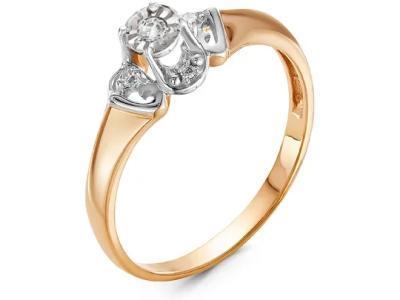 Золотое кольцо РусГолдАрт 1341303_1_5_1_17